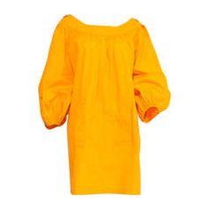 1989 Yves Saint Laurent Yellow Sun Dress