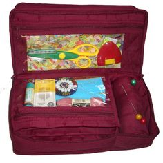 CA610-Deluxe Craft Storage Organiser Yazzii - The Craft Accessory Leaders