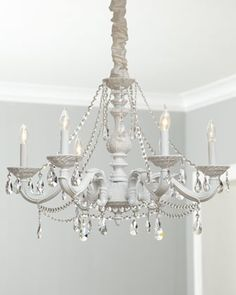 Primo collection medium crystal chandelier available at good bye brass chandelier hello clean white one time for a dining room re mozeypictures Gallery