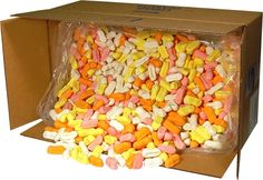 Box of Assorted Circus Peanuts