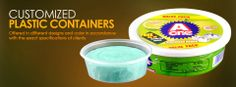 We design and manufacture a variety of plastic containers - & some of them are for nonfood items. We have come out with a very sensible range of Round Dishwash Bar Containers made from 100% nontoxic plastic.  We offer the range in standard and customized designs where in the client can suggest a logo of his choice. The range comes in transparent white & also in colors. The round dishwash bar containers have variable filling capacity.