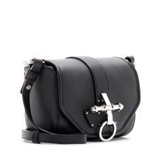 mytheresa.com - Givenchy - OBSEDIA LEATHER SHOULDER BAG - Luxury Fashion for Women / Designer clothing, shoes, bags