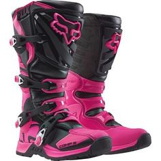 Fox 2016 Comp 5 Black/Pink Womens Boots
