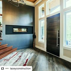 "A beautiful custom home built by Lacey Construction, nominated for ""Best Custom Home"" finalist in the CHBA Fraser Valley 2021 Housing Awards Excellence - with a custom Westeck Elite Wood Exterior Door 🚪with sidelites and transom. #customhomes #customhomebuilder #customdoors #customwindows #design #windowdesign #doordesign #wooddoors #highperformancewindows #fenestration #beautifulhomesofinstagram Window Design, Door Design, Custom Home Builders, Custom Homes, Wood Exterior Door, Fraser Valley, Custom Windows, Wood Doors, Windows And Doors"
