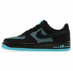 first rate d81eb beb5a Nike Air Force 1 Black Gamma Blue (JD Sports Exclusive)