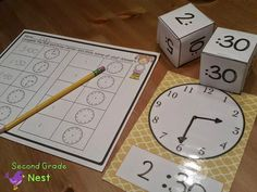 Second Grade Nest: Telling Time Activities