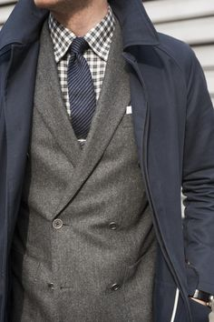 some of my favorites: plaid/gray wool/navy.