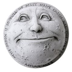 ...the moon is so full he must have eaten all the stars...