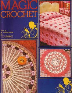 MAGIC CROCHET #1 ~Here you will find ways to download plenty of free crochet patterns, entire crochet books ans all for free. Get patterns for amigurumi, bags, scarves