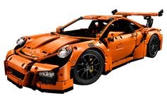 The LEGO® Technic Porsche 911 GT3 RS: the art of engineering and design in 2,704 elements - News Room - About Us LEGO.com