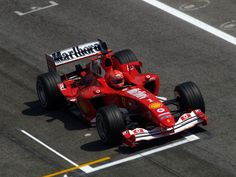 2004 - Michael Schumacher - Ferrari. En este ano estuve en el Gran Premio de Canada.