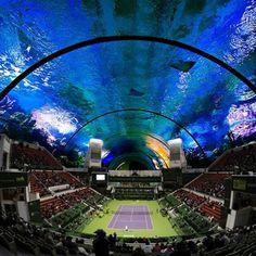 Проект подводного стадиона в Дубай