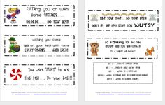 Test Taking Motivational Messages | Printable File Folder Games, Other Fun Classroom Activities