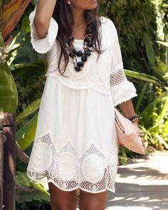 White Lace   Rosegal.com