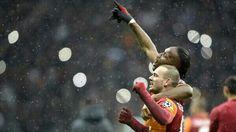 #Galatasaray #Drogba #Sneijder