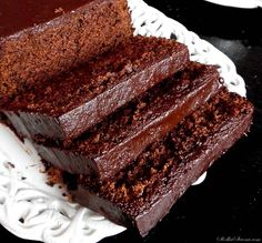 Chocolate and ricotta cake - HQ Recipes Different Cakes, Pudding Cake, Polish Recipes, Pumpkin Cheesecake, How Sweet Eats, Chocolate Recipes, Sweet Recipes, Sweet Treats, Food And Drink