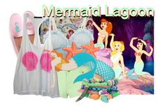 """""""Mermaid Lagoon from Peter Pan"""" by likeghostsinthesnow ❤ liked on Polyvore featuring Disney, Del Toro, Sretsis, Ted Rossi, Brave Soul, Wildfox, Moschino and Bee Charming"""