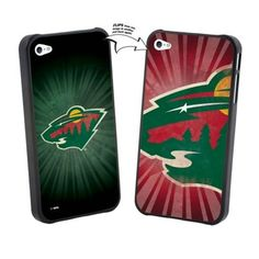 Minnesota Wild Large Logo Lenticular iPhone 5 Case