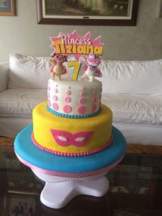 Barbie Princess Power cake by facebook.com/latortadesu, Lima, Peru
