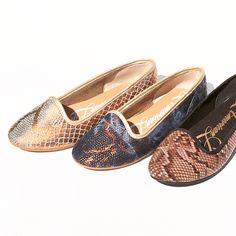 SHOES Valetas valerinas exóticas Para el verano 2015 AMERICAN LIFE Zapatos