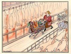 Sección de carnes.