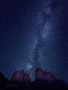 Jim Peterson‎Shutterbug Magazine — Ultra Wide: Eons of Light over Cathedral Rock, near Sedona, Arizona ©2014 Photography by Jim Peterson. The Milky Way's galactic core glows before daybreak in this long exxposure made with a Nikon 17-35mm lens at 17mm. via.. www.facebook.com/photo.php?fbid=1090114067683620&set=o.128868402392