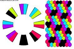 K4056 - friendship-bracelets.net Strings: 16 Colors: 5