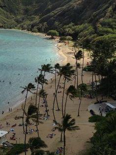 Taken from the lookout.Hanauma nolulu,Bay Nature preserve Honolulu, Oahu, HI