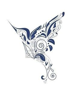 Prettiest hummingbird tattoo I've ever seen by petra
