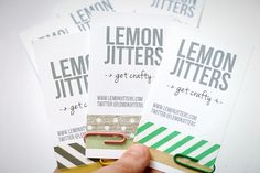 25 DIY Business Cards - step up your biz without spending a small fortune