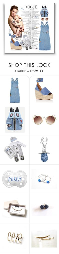 """""""Love"""" by treasury ❤ liked on Polyvore featuring Topshop, Chloé, WithChic and Kate Aspen"""