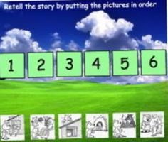 The Three Little Pigs Smartboard Activity - Its a Jungle Out There - TeachersPayTeachers.com
