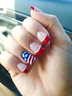 patrioticnails.quenalbertini: July 4th Nail Art Design | BingoBongos