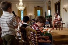 First Lady Michelle Obama Answers Questions on Take Our Daughters and Sons to Work Day
