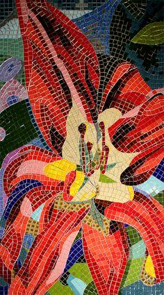 Mosaic Flowers - Ardea