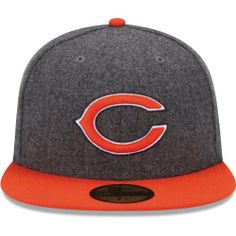 Men's New Era Chicago Bears Melton Basic 59FIFTY? Structured Fitted Hat by New Era. $35.99. Team logo embroidered on front; NFL® Shield on backContrast-colored flat bill and top button. Fitted hat. 80% polyester, 20% wool. Eyelets for ventilation Officially licensed Made in China. Keep your head toasty warm and full of spirit in this men's New Era® Melton Basic 59FIFTY® structured hat! The fitted cap displays your favorite team's logo embroidered on the front and the f...