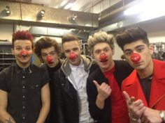 1d red nose day | One Direction: 1D for Red Nose Day (15.3.2013.)