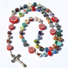 Clay Rosaries