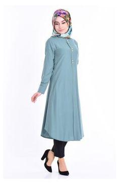 Abaya Fashion, Muslim Fashion, Fashion Outfits, Casual Hijab Outfit, Hijab Dress, Tunic Designs, Kurta Designs, Modele Hijab, Coats For Women
