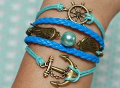 Anchors and more anchors it would be perfect fur my summer in California