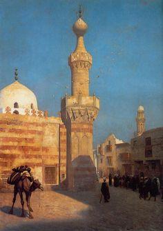 Gérôme - View of Cairo - Jean-Léon Gérôme - Wikipedia