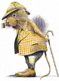 Ratty - Wind In The Willows(Wildlife) by William Geldart - Paintings & fine art pictures available on discounted prices Art And Illustration, Book Illustrations, Hamster, Paperclay, Beatrix Potter, Illustrators, Fantasy Art, Book Art, Fairy Tales