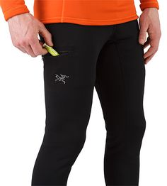 Rho AR Bottom Men's Versatile, insulated tight that can be worn as an insulated base layer, or as a stand-alone outer layer during cool-weather workouts Cold Weather, The Man, Fitness Clothing, Breathe, Workouts, Sleeves, Layers, Plush, Surface