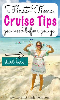 Cruise tips: First Time Cruise Tips caribbean cruise tips for beginners Packing List For Cruise, Disney Cruise Tips, Best Cruise, Cruise Travel, Cruise Vacation, Packing Lists, Travel Money, Travel Tips, Travel Ideas