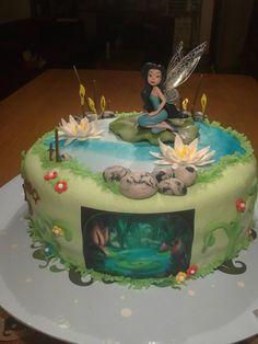 Silvermist birthday cake fairy