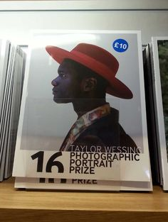 Taylor Wessing Photographic Portrait Prize Reflection - blog post. Photo on the cover by David Cantor called Abdel.