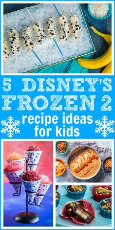 5 Disney Frozen 2 Recipes for Kids That We Can't Let Go! - Raising Whasians #frozen #disneyfrozen #frozen2 #anna #elsa #olaf #sven #healthyrecipes #dessert #breakfast