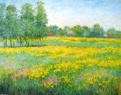 Лесничая Юлия. Желтое поле