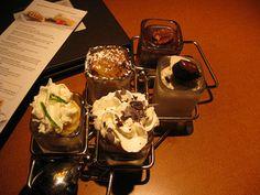 5-dessert sampler / Milestones Newmarket - http://www.gucciwealth.com/5-dessert-sampler-milestones-newmarket/