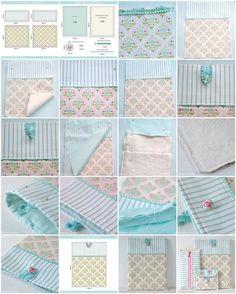DIY pretty ipad cover sewing tutorial by Torie Jayne